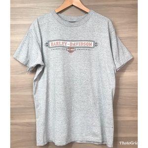 Harley Davidson Gray Las Vegas Men's T-Shirt